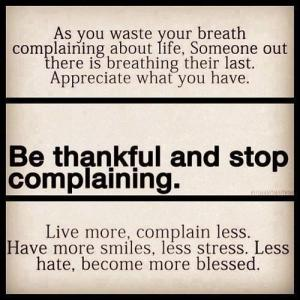 Be Thankful Mantra
